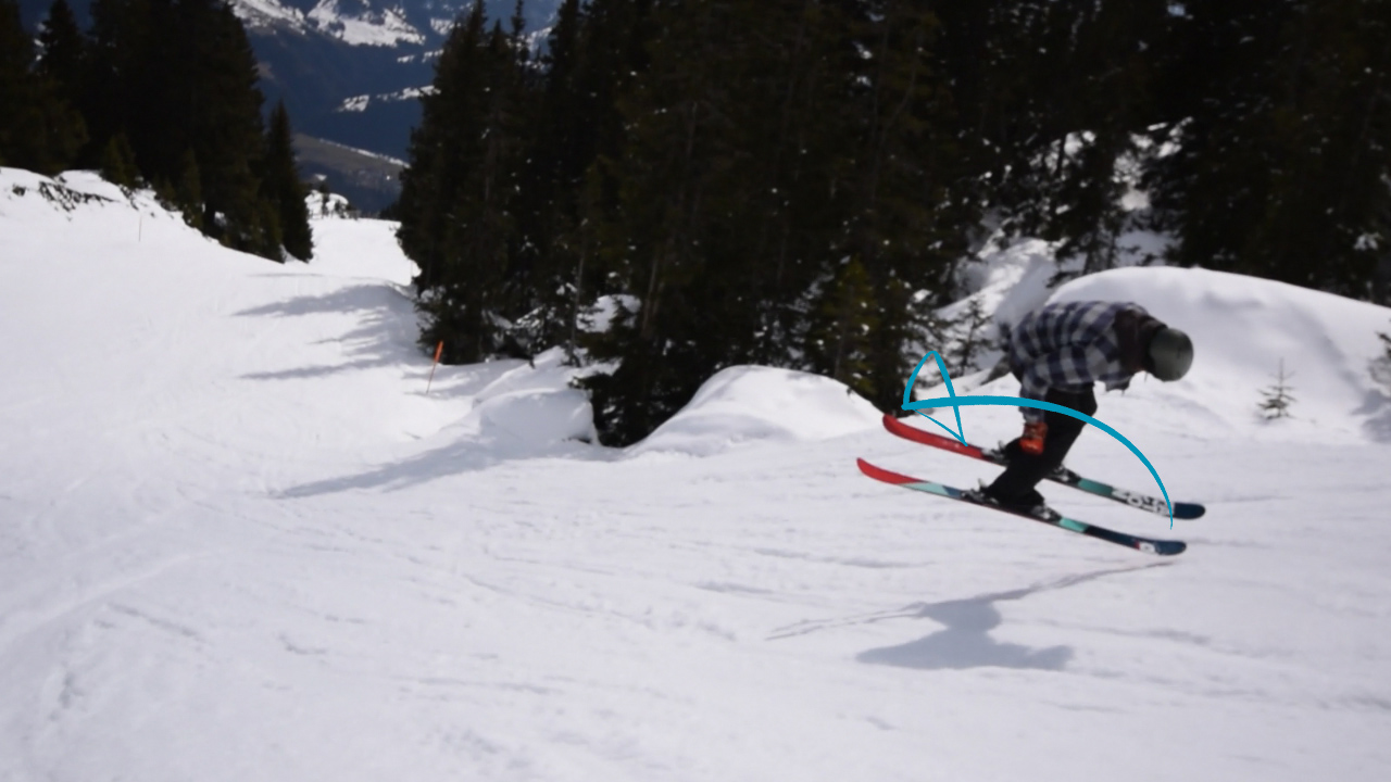 Stomp it tutorials how to butter on skis nose